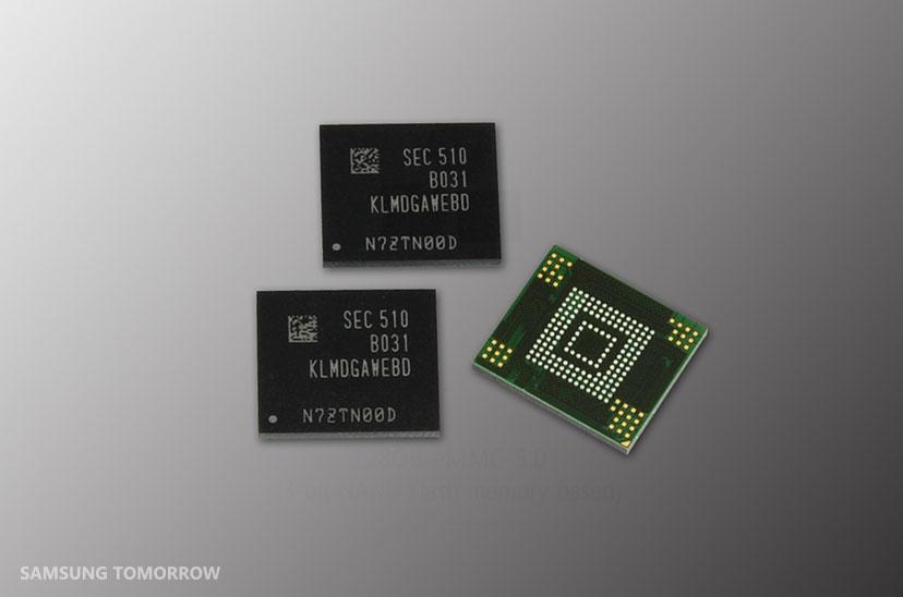 Samsung Boosts Mobile Storage