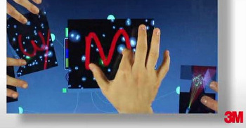 PCAP multi-touch display