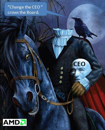 AMD & The Ride of the Headless Horseman