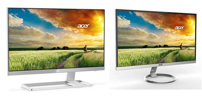 Acer Intros Frameless Monitors