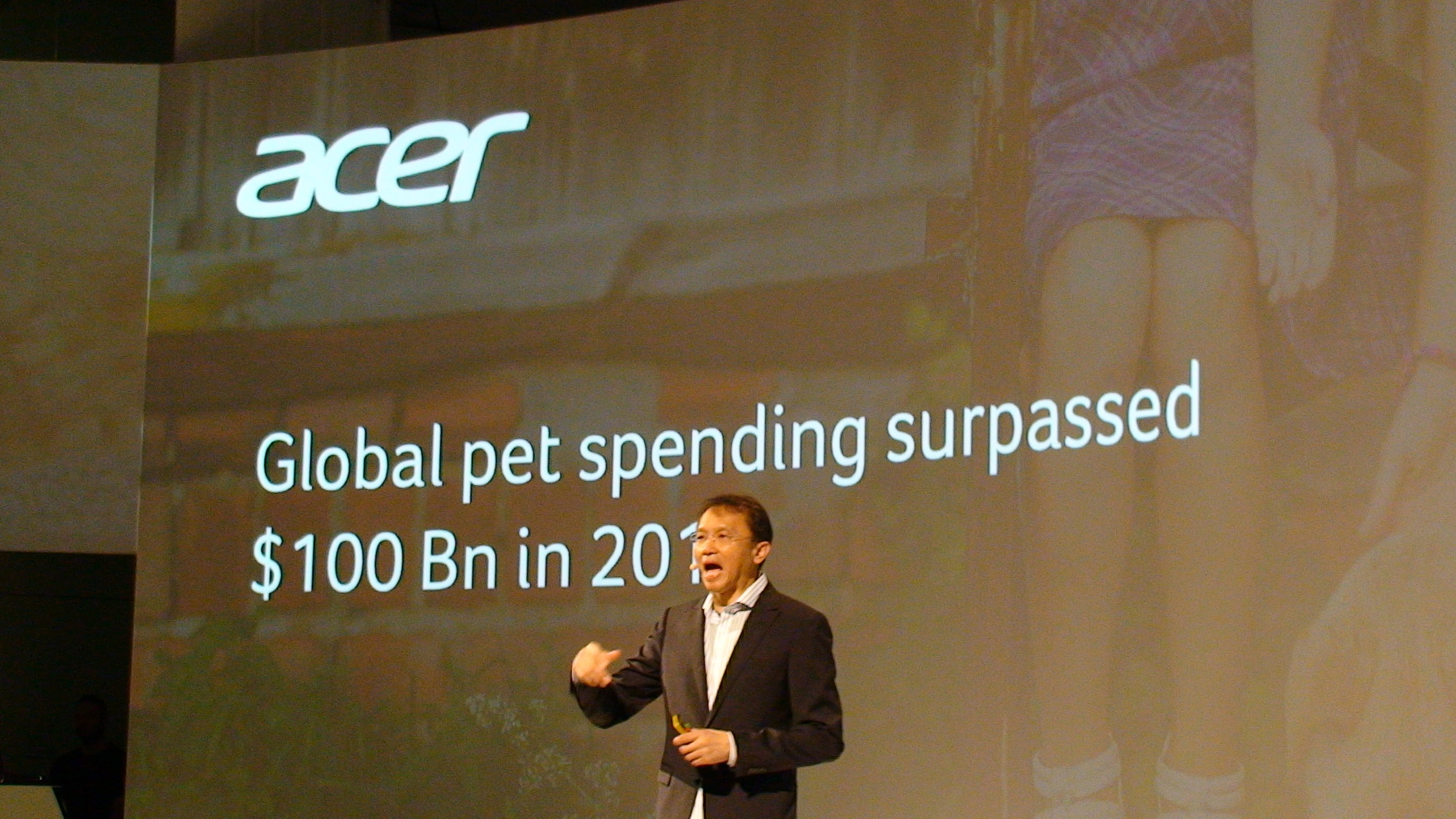 Acer is Now in Pet Care. Really.