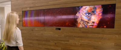 Adobe HQ: Video Wall to Entrance Visitors