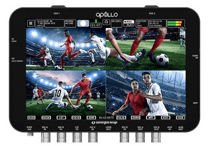 Apollo: Portable Multi-camera Recorder/Switcher
