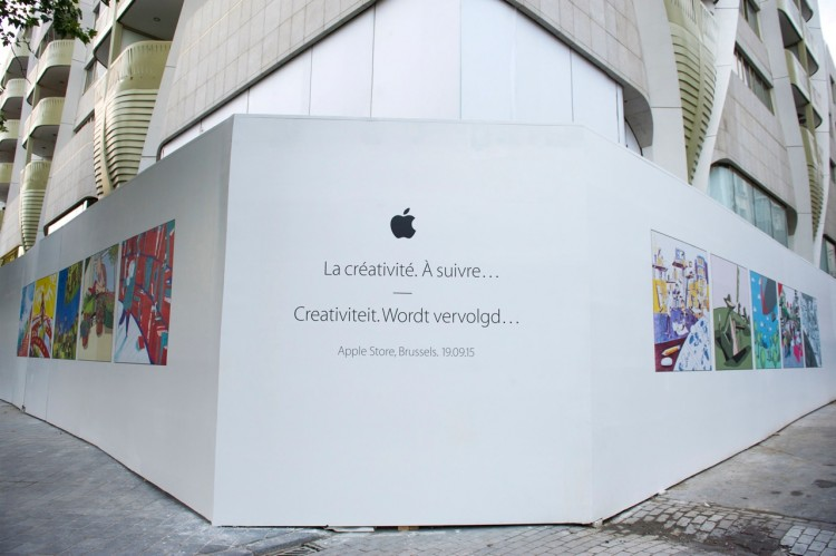 Apple to Open First Brussels Store