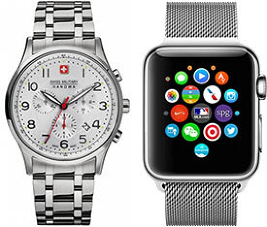 Which Shipments are Bigger: Smartwatches or Swiss Watches?