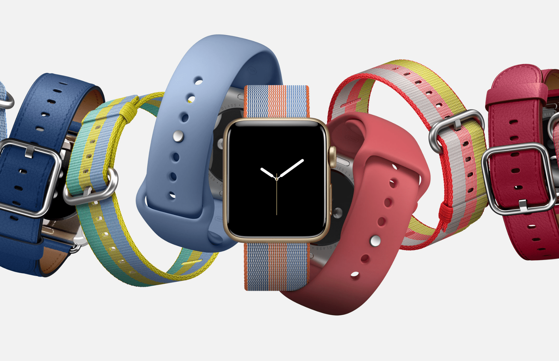 New Apple Watch Bands for Spring 2017