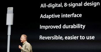 Phil Schiller and Apple's Lightning
