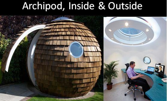Archipod: Future of Executive Home Work