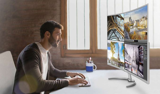 Philips Claims Largest Curved Monitor