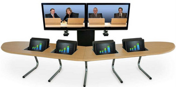 Boomerang Video Conferencing Furniture
