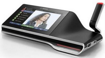 Bosch Shows Off DCN Multimedia Conferencing System