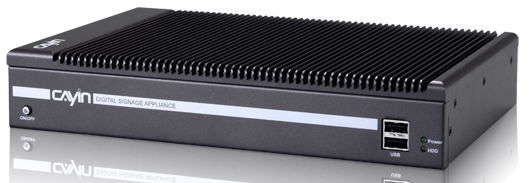 Cayin's Fanless Digital Signage Players