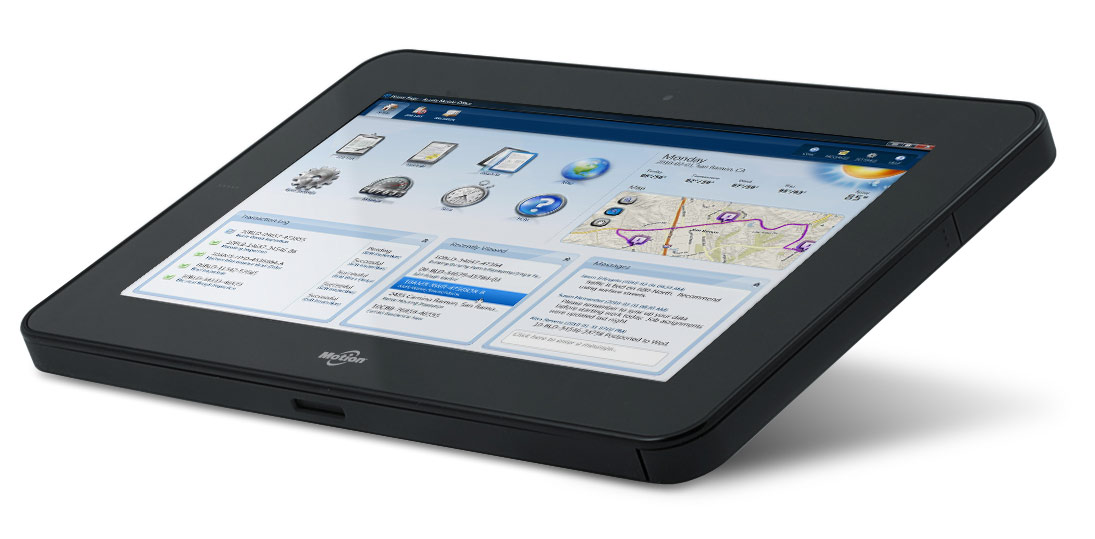A Tablet for Mobile Workflow