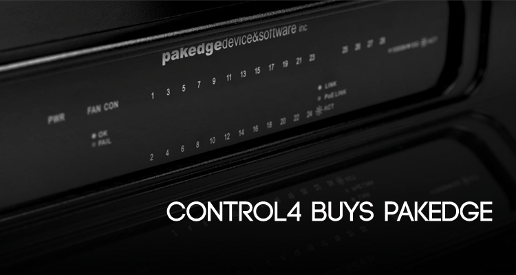 Control4 Pakedge