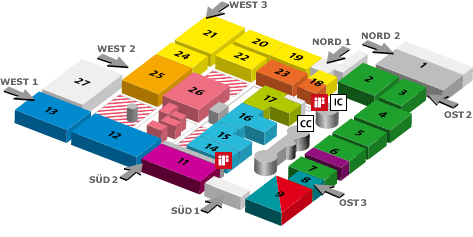 CeBIT Hall 6 Goes to 'Internet & Mobile Solutions'