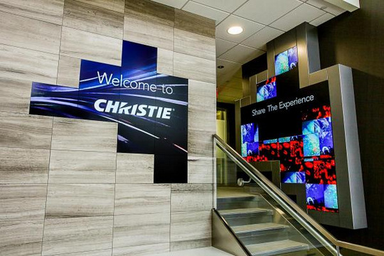 Christie Wins DSE Award for Own Lobby