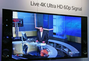 Public Demo of 4K Live Streaming