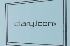 "Clary Icon Adds 40"" Display"