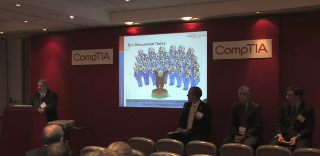 CompTIA Discusses Mobile Enterprise