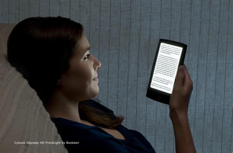 Bookeen Reveals Front-Lit eReader