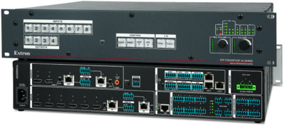 Extron DTP CrossPoint 84 Now Includes a Built-In Control Processor