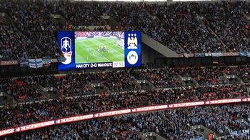 Daktronics at Wembley