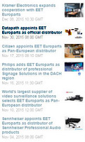 Datapath Appoints EET Europarts as Distributor