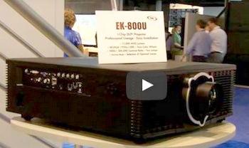 EIKI Debuts 12K Lumen EK-800U DLP Projector