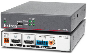 Extron Introduces HDMI Audio Embedder with Support for 4