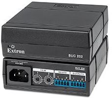 Extron's BUC 202: Two Channel Balanced & Unbalanced Audio Converter with Precision Input Signal Matching
