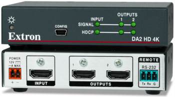 Extron's HDMI Distribution Amp for 4K Video