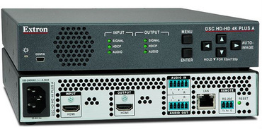 Extron Ships the AV Industry's First 4K/60 @ 4:4:4 HDMI Scalers