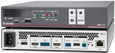 New Extron SMP 111 Provides Extensive Recording and H.264 Streaming Capabilities in a Compact Package