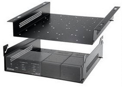 The Extron Uts 100 Series Under Table Shelf System Is A Self Supporting Half Rack Width Designed For Use In Environments Where Traditional