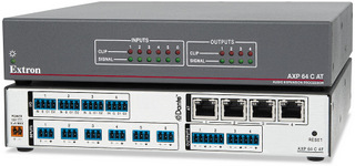 Extron Ships 6 Input, 4 Output Audio Expansion Processor with AEC and Dante