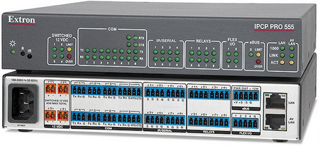 Extron Intros High Performance Control Processor with Dedicated AV LAN Port