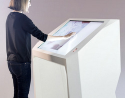 Interactive Airport Desks