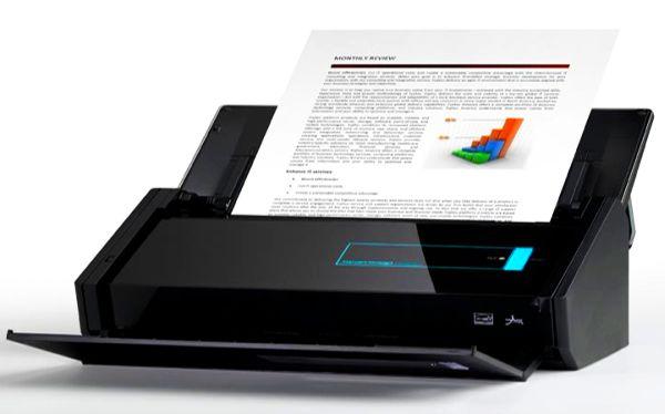 Fujitsu Intros ScanSnap iX500