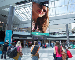 BroadSign Powers Airport Media DOOH Displays in the UK