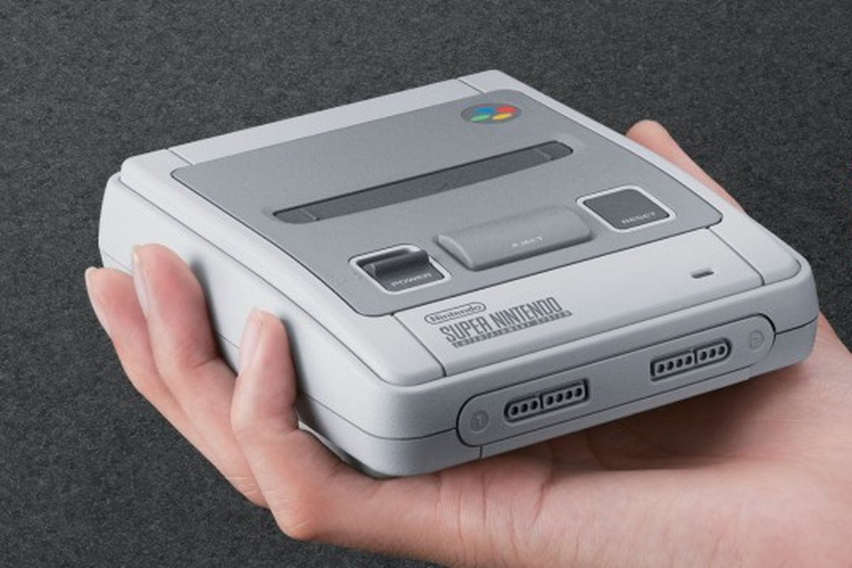 Nintendo Follows NES Classic With SNES