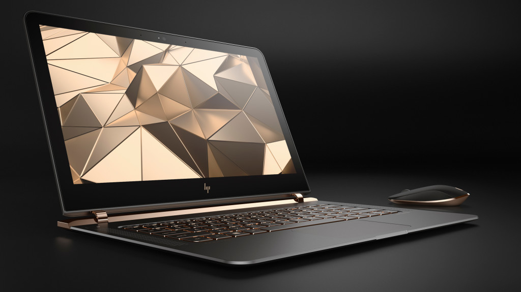 HP Spectre Claims Thinnest Laptop Title