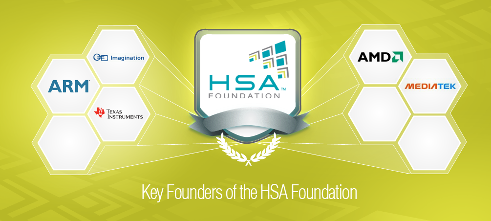 Intel Rivals Team Up in HSA Foundation