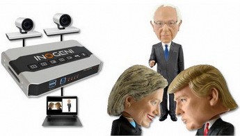 Trump, Clinton & Sanders Together at InfoComm 2016
