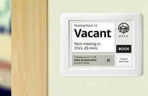 "Visionect's Room Booking System: ""Joan"""