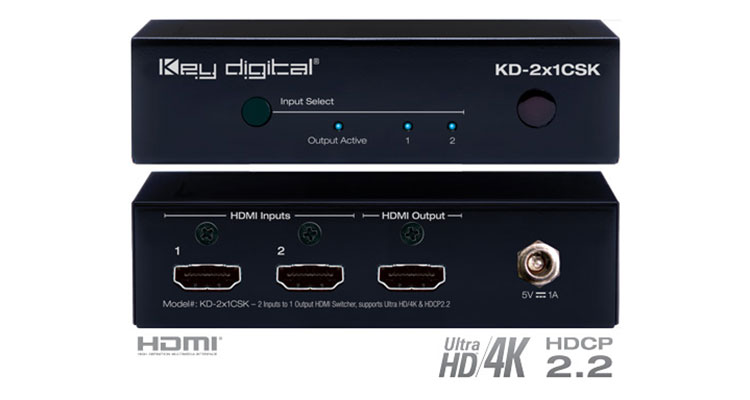 Key Digital Presents 4K HDMI Switchers