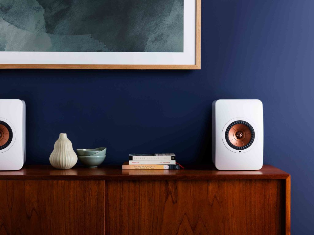 KEF Ditches Cables With LS50 Wireless
