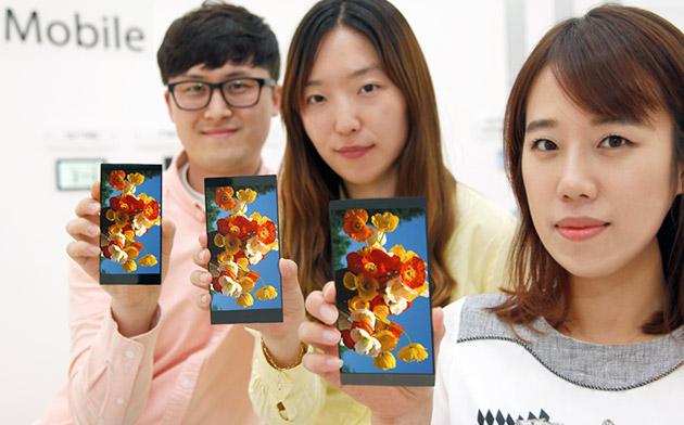 LG Touts G4's Display