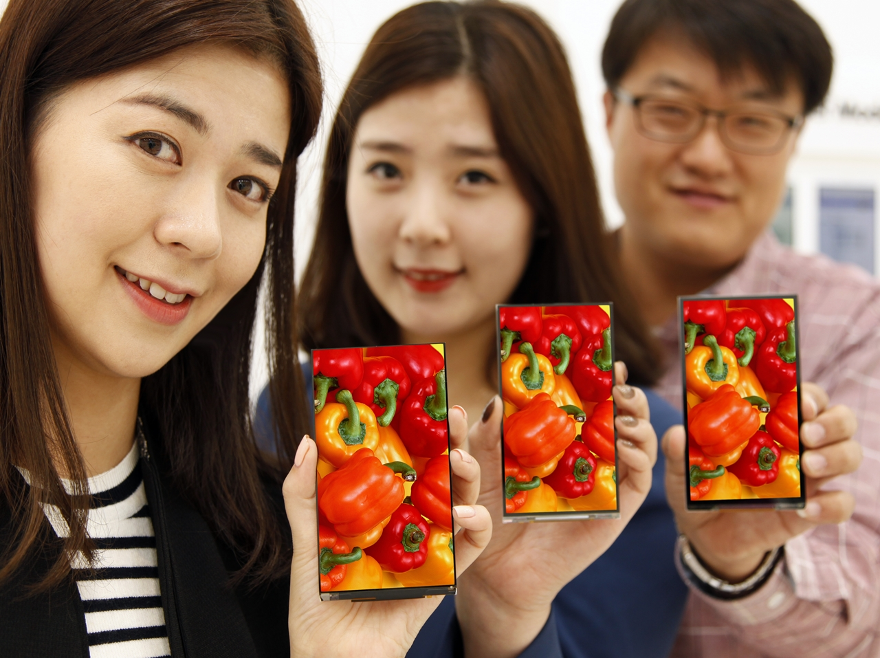 LG's Thinnest Smartphone Bezel yet