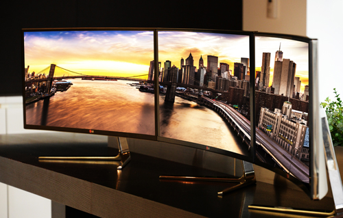 LG Preps Curved Monitor for IFA 2014