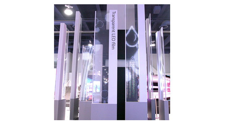 LG Goes Transparent With Film Display